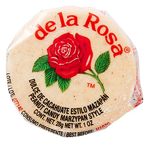 De La Rosa Marzipan Peanut Candy, 1 OZ each - 30 Packs