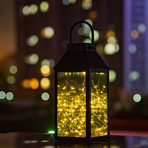 Cheap  Solar Lantern Lights, Tomshine Outdoor Hanging Lamp, Copper Wire Fairy String Lights,..