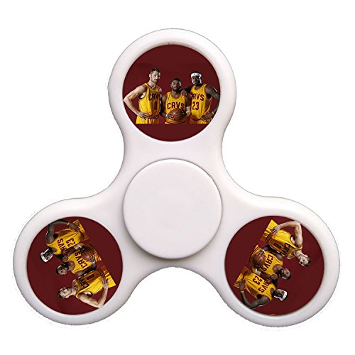 Handplay Fidget Spinner Cavs Releasing Pressure Tri Spinner High Speed Spin Stress Reducer Relieve Anxiety   Yellow