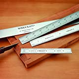 Woodworker's 3 pc. Ruler Set