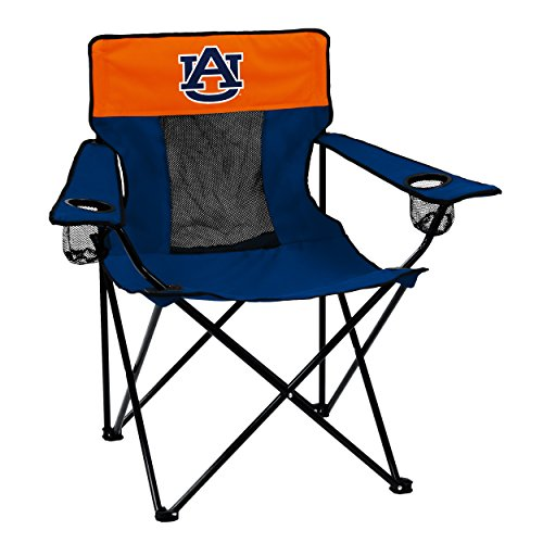 Logo Brands Collegiate Auburn Tigers Elite Chair Auburn Tigers Adult Chair