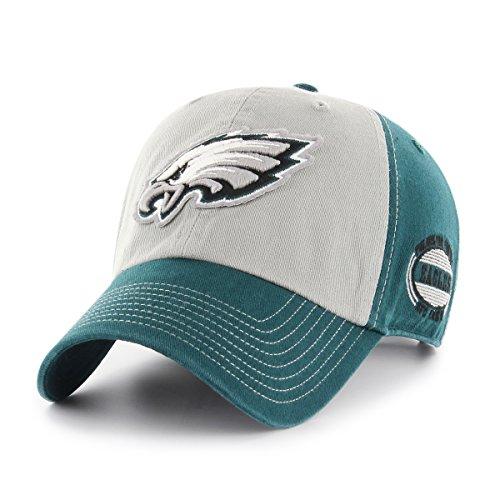 NFL Philadelphia Eagles Men's Tuscon OTS Challenger Adjustable Hat, Team Color, One Size