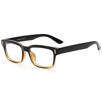 431c140cbf Rnow - Gafas Premium unisex estilo retro, moda en óptica, con montura  cuadrada: Amazon.es: Juguetes y juegos