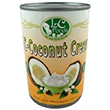 Coconut Cream - LC Foods - All Natural - Low Carb - Paleo - Gluten Free - No Sugar - Diabetic Friendly - 13.5 oz