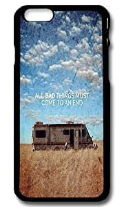 Rugged iPhone 6 Case,All Bad Things Come To An End Custom Case Cover for Apple iPhone 6 4.7inch Polycarbonate Black
