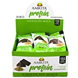 Best Protein Vitamins - Amrita Protein Chocolate Maca Nutrition Bars (12 pack) Review