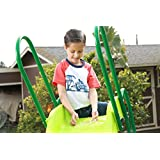 SLIDEWHIZZER 8ft Water Wavy Slide - Outdoor Playset and Toys for your kids, children, toddlers, preschool, boys or girls, Backyard Playground for Birthday/Summer/Parties/Gifts/Family Games