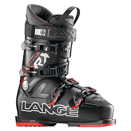Lange RX 100 L.V. Ski Boot Men's Black/Red 26.5