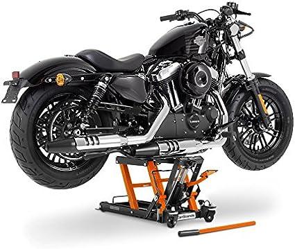 Constands Motorrad Hebebühne Für Harley Davidson Sportster Forty Eight 48 Xl 1200 X Hydraulik Lift Constands Orange Hydraulisch Sicherung Auto