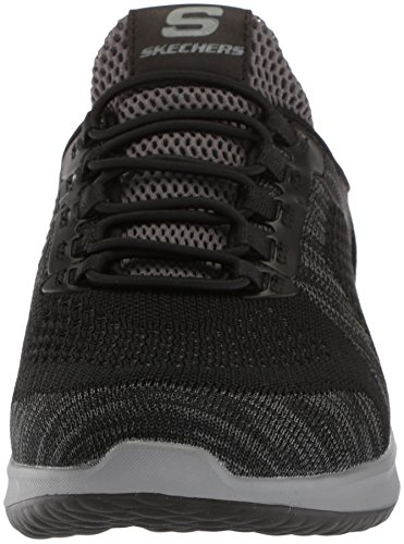 Skechers Mænds Afslappet Fit-delson-brewton Sneaker Sort JheKHy