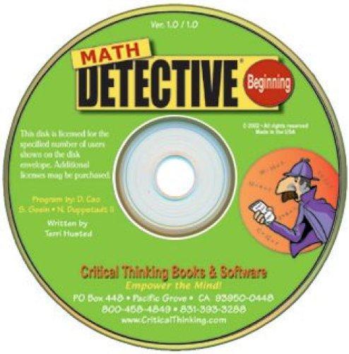 Math Detective Software Beginning