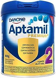 Fórmula Infantil Aptamil Premium 2 Danone Nutricia 800g