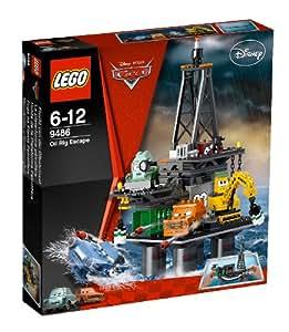 LEGO Cars 9486 - Huida de la plataforma petrolífera