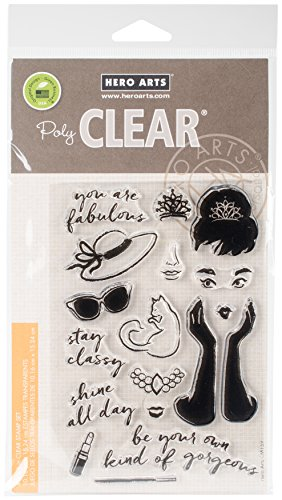 Hero Arts CM159 Clear Stamps 4''X6''-You are Fabulous by Hero Arts