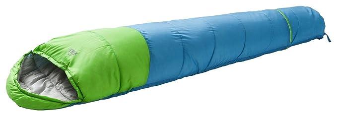 McKinley Momia Saco de Dormir de 261770 Momia Saco de Dormir, Color Grau/Grün/Lila, tamaño 125L, 0.6: Amazon.es: Deportes y aire libre