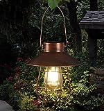 Hanging Solar Lights Outdoor -Vintage Solar Powered