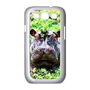EZCASE Hippo Phone Case For Samsung Galaxy S3 i9300 [Pattern-1]