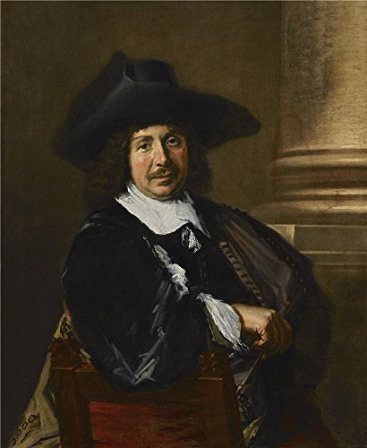 Oil Painting 'Frans Hals - Portrait Of A Painter, Early 1650s' 30 x 37 inch / 76 x 93 cm , on High Definition HD canvas prints is for Gifts And Basement, Living Room And Study Room decor, artistic (Dog Built Smith Kennel)