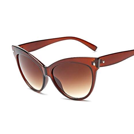 Yangjing-hl Gafas Tendencia Cat Eye Sunglasses clásico arroz ...
