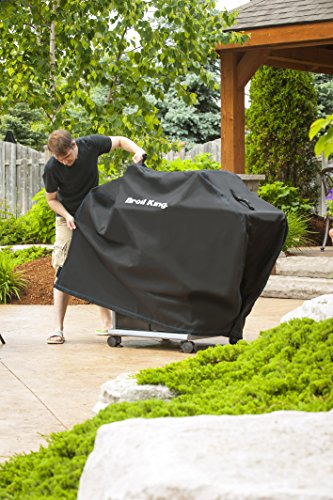 Broil King 68487 Heavy Duty PVC Polyester Grill Cover