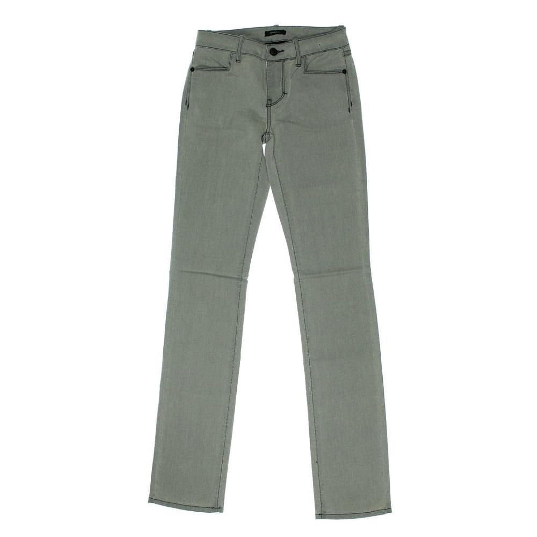 Decades Cheryl Stretch Straight Leg Jeans, Gray, 24