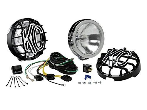 KC HiLiTES 123 SlimLite Chrome 100w Driving Light System