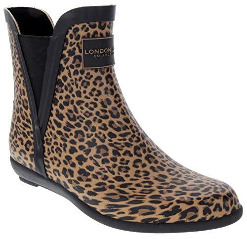 LONDON FOG Womens Piccadilly Rain Boot