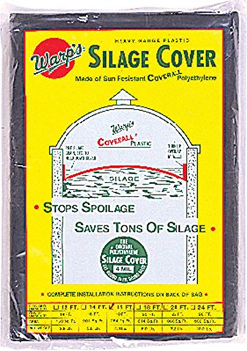 Warp Brothers 641006 Silage Cover Black, 18 Foot