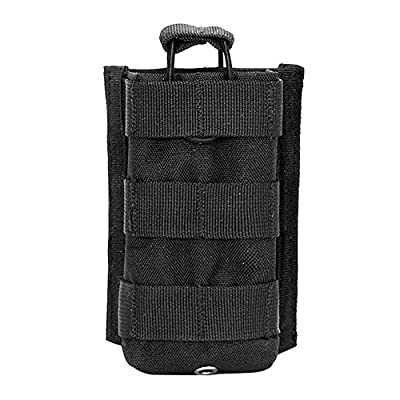 Etopsell Tactical Molle Walkie Talkies Pouch Multi-functional Radio Case for Two Way Radio by Etopsell