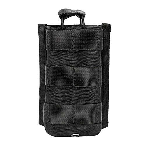 Vest Radio Pouch - Etopsell Tactical Molle Walkie Talkies Pouch Multi-functional Radio Case for Two Way Radio