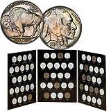 Buffalo Nickel Album with 13 Nickels
