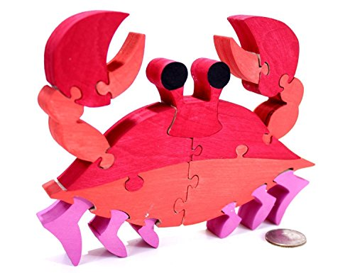 Red Crab Puzzle and Home Decor