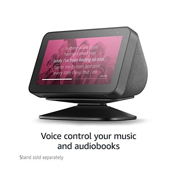 Echo Show 5 -- Smart display with Alexa – stay connected with video calling - Charcoal 7