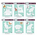 Creative Expressions Die Set Paper Cuts 3D Collection - Animals