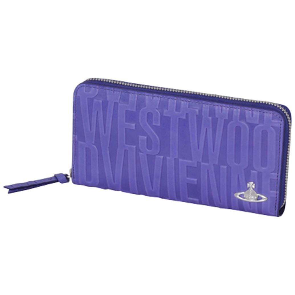 ヴィヴィアンウエストウッド Vivienne Westwood レディース ラウンドファスナー 長財布 ブライダルボックス B07QR38BB7 ブルー
