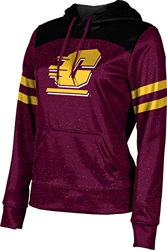 - ProSphere Central Michigan University Girls' Pullover Hoodie, School Spirit Sweatshirt (Gameday) FD031 Maroon and Black