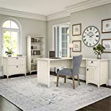 Bush Furniture Salinas L Shaped Desk with Lateral