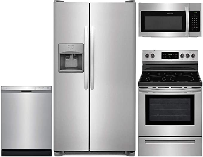 Frigidaire 4-Piece Stainless Steel Kitchen Package with FFSS2615TS 36\