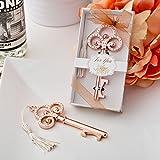 Rose Gold Vintage skeleton key bottle opener from fashioncraft