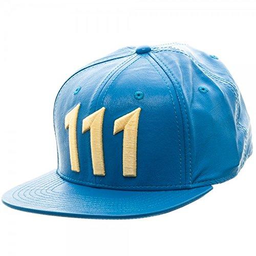 Fallout 111 Flat Brim Adjustable Snapback Baseball Cap - Bethesda Store