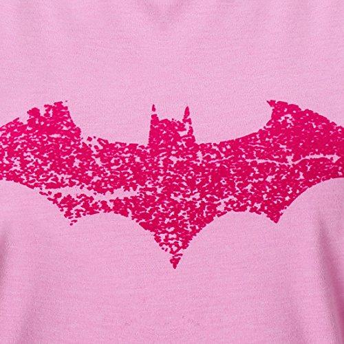 GOZOO Batman T-Shirt Damen Bats Love Pink 100% Baumwolle Rosa