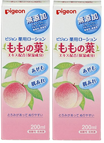 200 Peach - Pigeon Medicated Lotion (Peach Leaf) 200ml (Quasi-Drug) (0 Months ~) × 2 Set