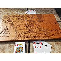 Middle Earth Map Cribbage