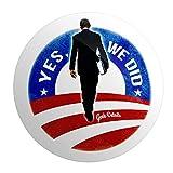 "Geek Details Obama Yes We Did 2.25"" Pinback Button"