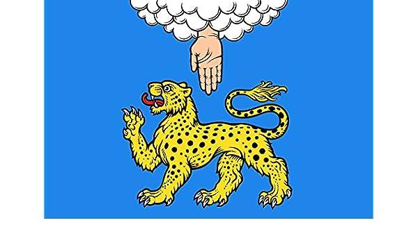 magFlags Bandera XXXL Óblast de Pskov | Bandera Paisaje | 6m² ...