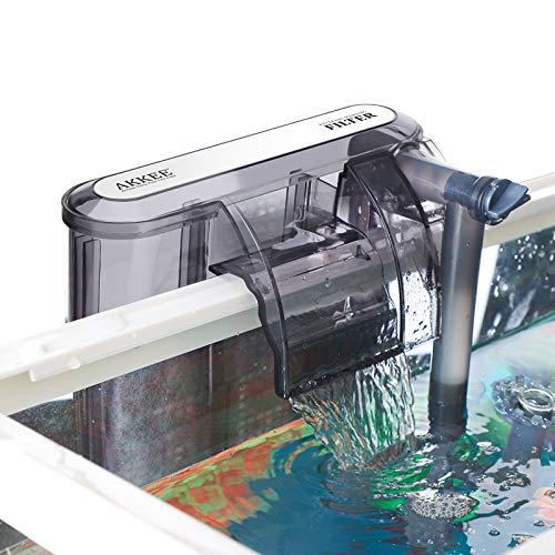 Práctico filtro para acuario