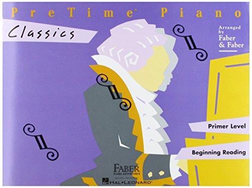 Faber Pretime Piano (Faber Piano Adventures Pretime Piano Classics Book Primer Level for Beginning Reading - Faber Piano)
