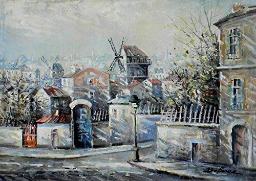 De La Moulin Montmartre Galette (Le Moulin De La Galette, Montmartre)