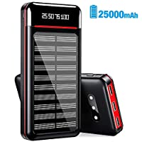 Solar Charger 25000mAh Power Bank Portab...