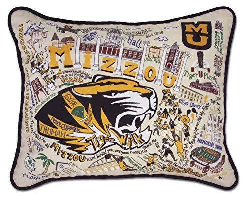 catstudio- University of Missouri (Mizzou) Embroidered Throw Pillow - 16